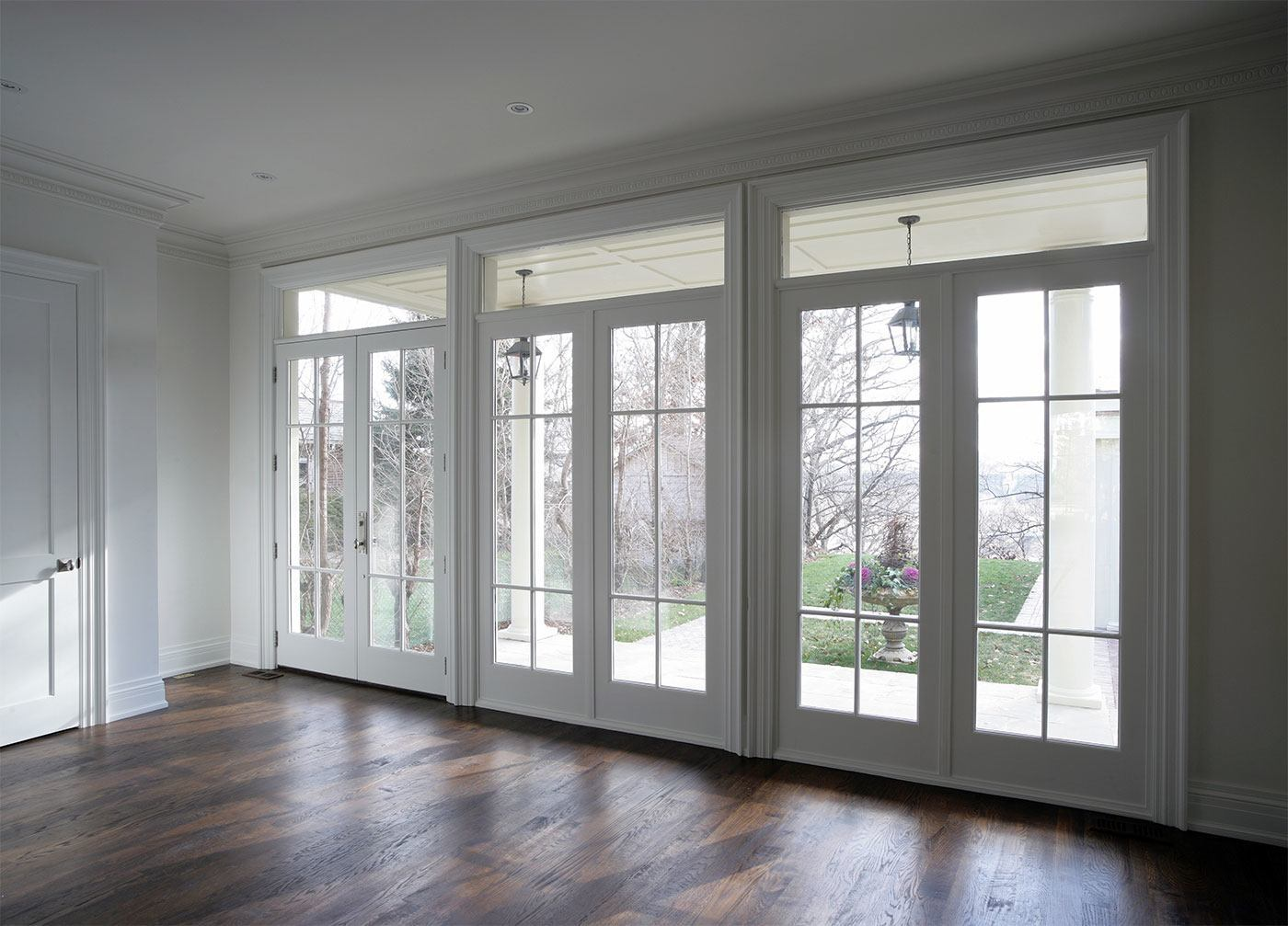 High Security Double Handled French Doors From South